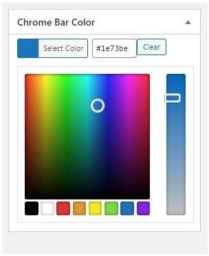 How to Color Mobile Chrome Bar For Your Website